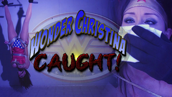 Wonder Christina Caught!