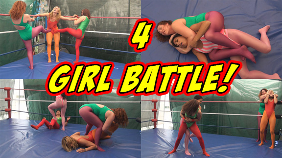 4 Girl Battle!
