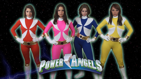 Mighty Hypnotic vs. The Power Angels