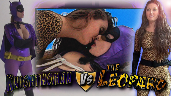 Knightwoman vs. The Leopard