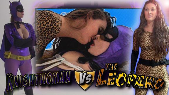 Knightwoman vs. The Leopard
