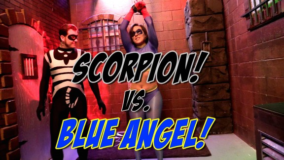 Blue Angel vs. Scorpion