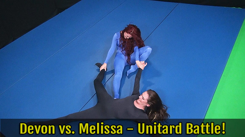Devon vs. Melissa Unitard Battle