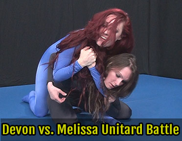 Devon vs. Melissa Jacobs Unitard Battle