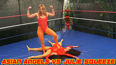 Asian Angels vs. Julie Squeeze