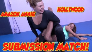 Amz Annie vs. Hollywood Subm Match!