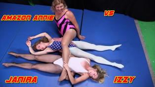 Amazon Annie vs. Janira & Izzy