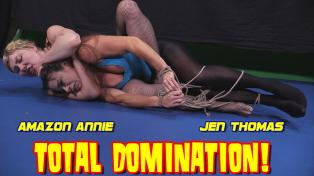 Amazon Annie vs. Jen Thomas - Total Domination!