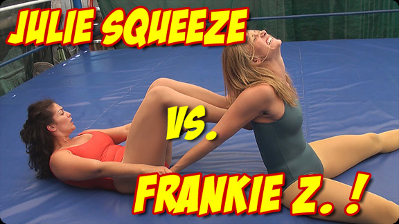 Julie Squeeze vs. Frankie Z.