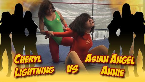 Lightning vs. Asian Angel Annie!