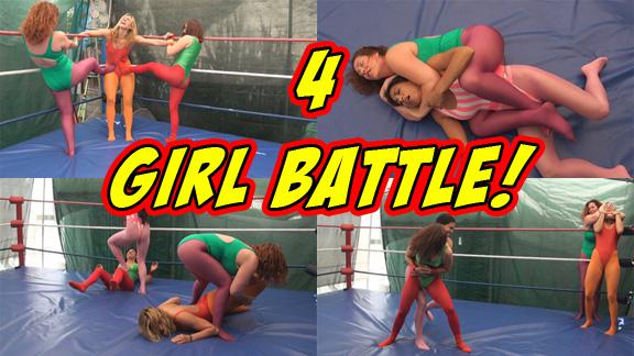 4 Girl Battle!