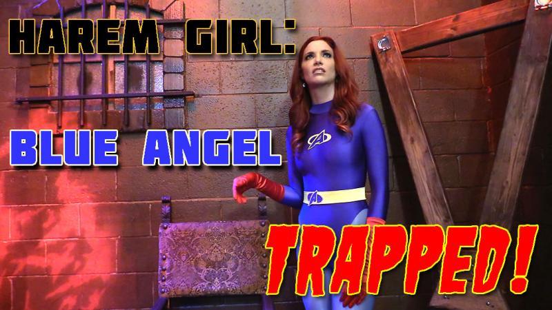 Harem Girl: Blue Angel Trapped!
