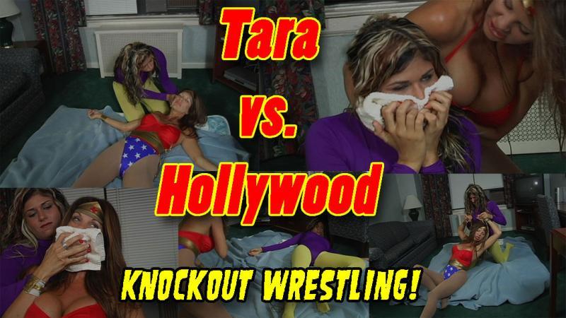 Tara Bush vs. Hollywood Knockout Wrestling!