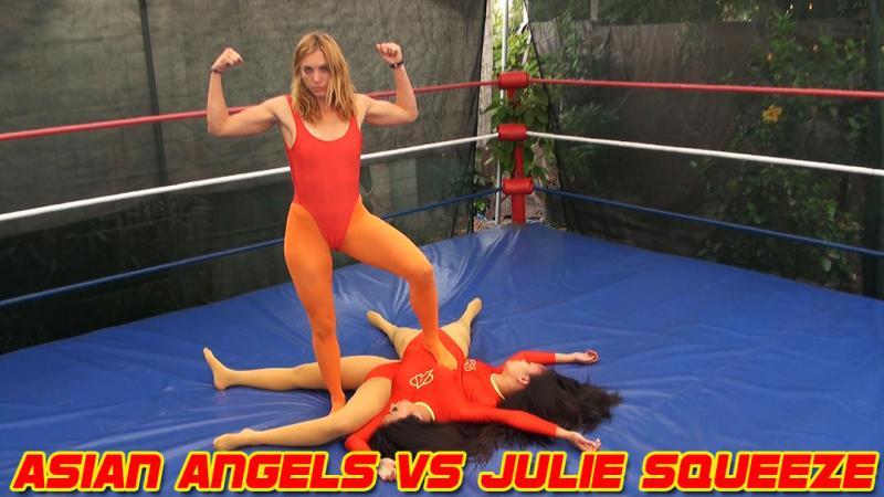 Asian Angels vs. Julie Squeeze