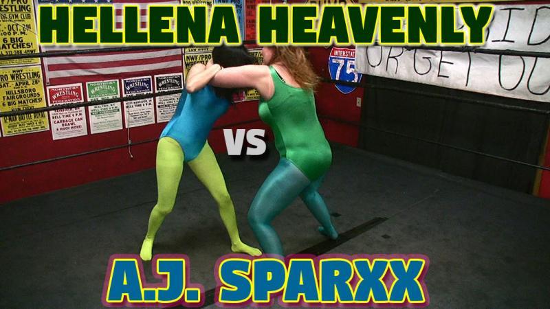 Hellena Heavenly vs. A.J. Sparxx! Prostyle Knockout Wrestling!